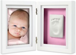 Pearhead Babyprints 4-Inch x 6-Inch Desk Photo Frame in White - $32.62