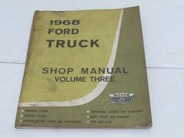 1968 Ford Truck  Service Shop Repair Manual  Volume 3 - $19.35