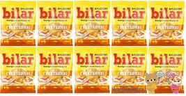 Ahlgrens Bilar Fruktkombi - Fruit mix, 125g 10 pack 1.25 kg Swedish Candy - $56.92
