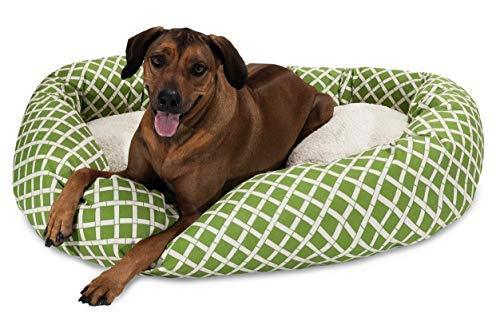 Pet Bed. Cute, Soft, Oval Cushion, Lounge Pad. Dog Indoor Bedding Furniture. Mac