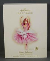 Hallmark Ornament BARBIE FLOWER BALLERINA New in Box 2007 - £15.29 GBP
