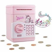 Mini Electronic Piggy Bank ATM Password Money Box Cash Coins Saving Gift... - $30.90