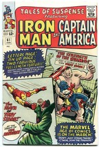 TALES OF SUSPENSE #61 IRON MAN CAPTAIN AMERICA   KIRBY VF+ - $181.88