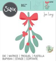 Sizzix Bigz Die By Jen Long-Mistletoe Leaves - $23.50