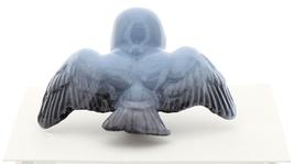 Hagen-Renaker Miniature Ceramic Bird Figurine Blue Tweetie Pa, Ma & Baby Set image 9