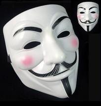 Adult Kids Vendetta Mr Robot Anonymous BLM Mask Fancy Dress Halloween Party - $10.26+