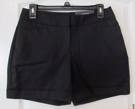Apt. 9® City Dressy Cuffed Shorts  BLACK TIE Women's Sz. 4 NWT MSRP$40 - $23.95