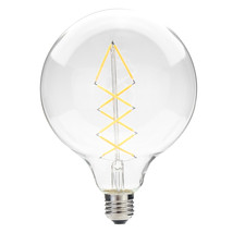 6.5W E27 G125 Dimmable Warm White LED Filament Light Bulb for Home Decor... - $12.70