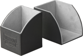 Dragon Shield Nest 100 Magnetic Deck Protector Gaming Box Gray & Black - $24.75