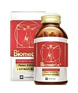 biometrix multivitamin and mineral supplement ginseng gingkgo biloba 100 caps - $64.50