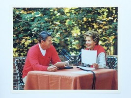 President Ronald Reagan Nancy Reagan 8x10 Promo Official White House Photo - $19.75