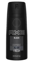 AXE Black 3 Piece + Bonus Gold Deodorant Spray Body Wash Gift Pack Collection image 6