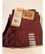 Levi's 511 Slim 10 reg.25 x 25 plum below waist jeans - $22.75