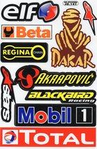D261 Sponsor Sticker Decal Racing Tuning Size 27x18 cm / 10x7 inch - $3.49