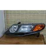 2008 Honda Civic Coupe Si Right Side Headlight Assembly w/ Bulbs OEM EUC - $48.99