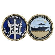 "2019 RIMPAC CAPABLE ADAPTIVE PARTNERS 1.75""  CHALLENGE COIN - $16.24"