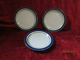 Otagiri Mariner set of 3 bread plates used  - $16.78