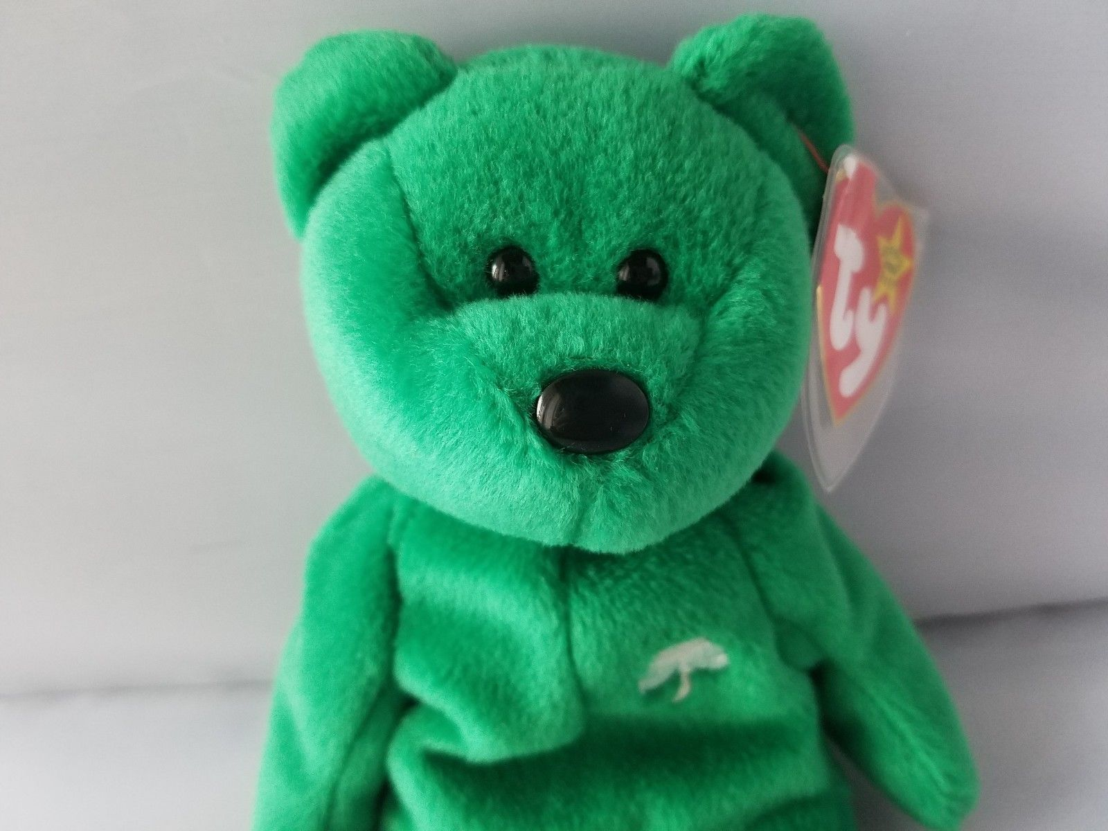 85f841aa437 ... Ty Beanie Baby Erin St. Patrick s Day Green Irish Bear 5th Generation  ...
