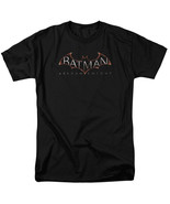 Batman Arkham Knight Logo T Shirt Licensed Comic Book Tee Black - $17.99+
