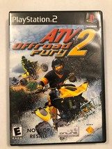 ATV Offroad Fury 2 (Sony PlayStation 2, 2002) - $4.99