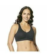 Hanes Women's Comfort-Blend Flex Fit Pullover Bra, Black, Large - $24.17