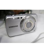 Samsung PL20 14.2 MP 3'' SCREEN 7x ZOOM Digital Camera SILVER - $49.00