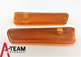 A-Team Performance Front Turn Signal Lights Compatible With 73 74 75 76 77 78 79