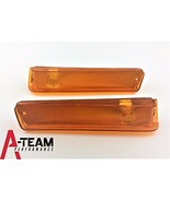 A-Team Performance Front Turn Signal Lights Compatible With 73 74 75 76 ... - $19.99