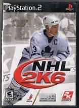 Nintendo Playstation 2 NHL 2K6  Game - $4.74