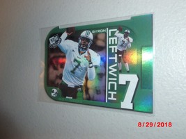 2003 Press Pass 'BIG NUMBERS' Byron Leftwich -Marshall Thundering Herd- ROOKIE- - $2.97