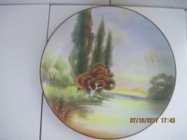Vintage Nippon Japan   Hand Painted Wall Plate - $225.00