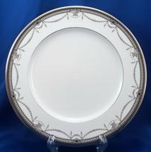 """Noritake Chamberlain Salad Plate Black Gray Platinum 8-5/8"""" 4705 Bone China - $15.84"""