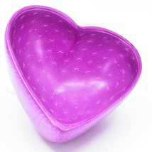 Vaneal Group Hand Carved Kisii Soapstone Fuchsia Pink Heart Decorative Bowl  image 2