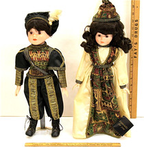 "Romeo & Juliet ""16 Doll Figures w/Stands 1991 House of Lloyd Original Bo... - $16.35"