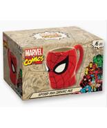 The Amazing Spider-Man Molded Head Image Figural Ceramic 16 ounce Mug NE... - $11.64