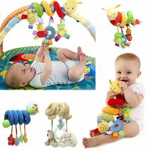 Baby Activity Spiral Stroller Car Seat Travel Lathe Hanging Toys Rattles... - $21.00