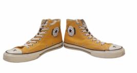 Converse Kaws Men Sneakers Size 8.5 Chuck Hi Top All Star Yellow Women's 10.5 image 3