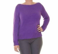 Lauren Ralph Lauren Women's Astra Long Sleeves Boat neck Pullover Sweater, - $19.79