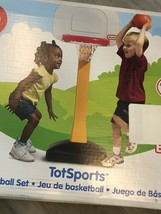 Little Tikes TotSports Basketball Set with Non-Adjustable Post - OPEN BO... - $39.60