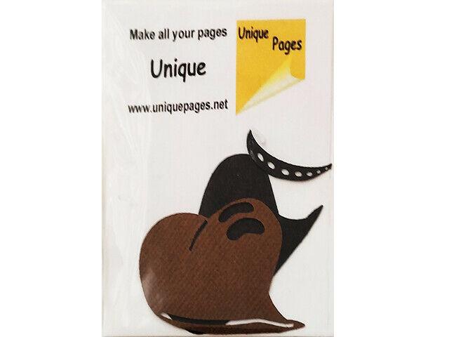Unique Pages Diecut Paper Cowboy Hat, Brown #252