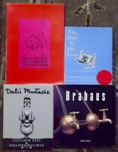 Dali's Mustache by Salvador Dali, Brahaus, The Dot & the Line, Fables of... - $8.00