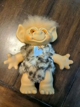 """vintage 8"""" 60's era troll toy doll, moveable head - $39.60"""