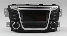 12 13 14 HYUNDAI ACCENT AM/FM RADIO CD PLAYER RECEIVER OEM - $74.24