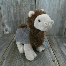 Ganz Webkinz Curly Camel Brown Plush Stuffed Animal 8 Inch HM568 Secret Code - $14.99