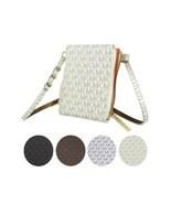 Michael Kors Women's MK Logo PVC Leather Purse Belt Fanny Pack Bag 552500 - $59.98