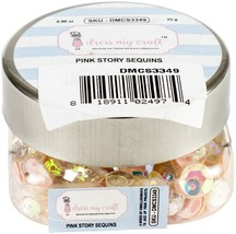 Dress My Crafts Sequins 25gms-Pink Story - $7.61