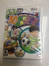Family Party: 30 Great Games (Nintendo Wii, 2008) NEW SEALED PACKAGE - $12.87