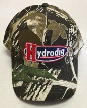 Hydrodig Hat Camo Excavation Cap Oilfield Gas Energy Denver Colorado Lea... - £11.42 GBP