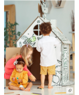 Playhouse for kids  - colouring house for children - Christmas gift - $40.00