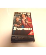 Eyewitness 1981 (VHS) Tape William Hurt/Sigourney Weaver - $9.50